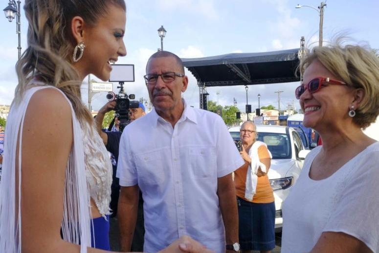 Toa Baja recibe a Miss Universe Puerto Rico 2019
