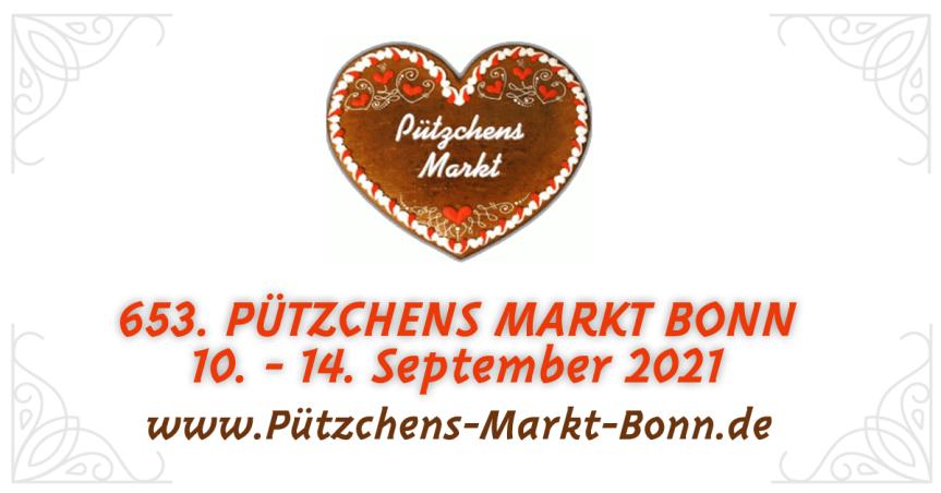 653. Pützchens Markt 2021 in Bonn
