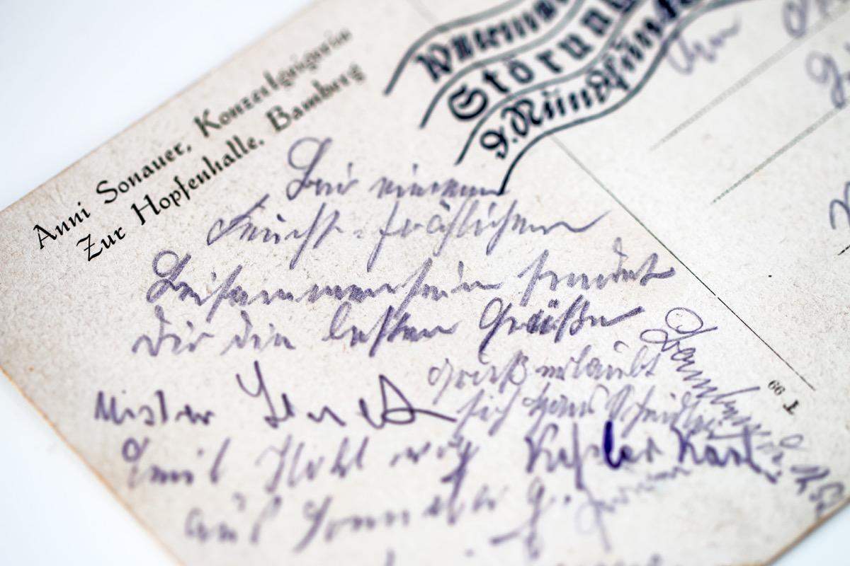 Großmutters Kuchenrezept oder Urgroßonkels Postkarte ...
