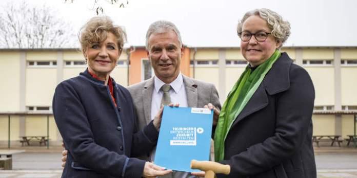 Land fördert Ausbau von Erfurter Gemeinschaftsschule mit 2,5 Mio. Euro
