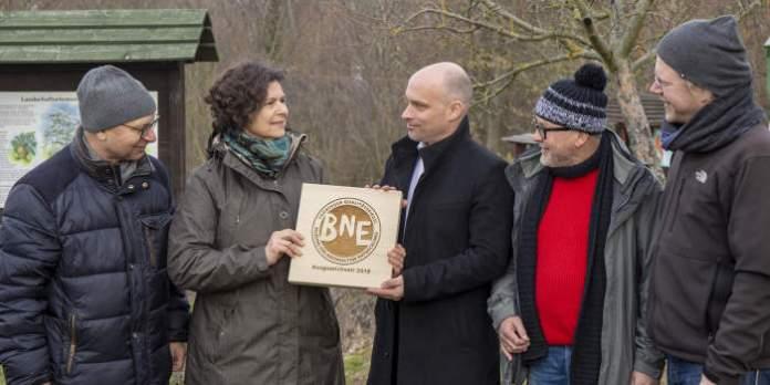 Erfurter Fuchsfarm bekam Qualitätssiegel für gute Bildung