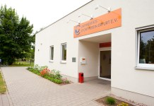 Sporthalle des USV Erfurt
