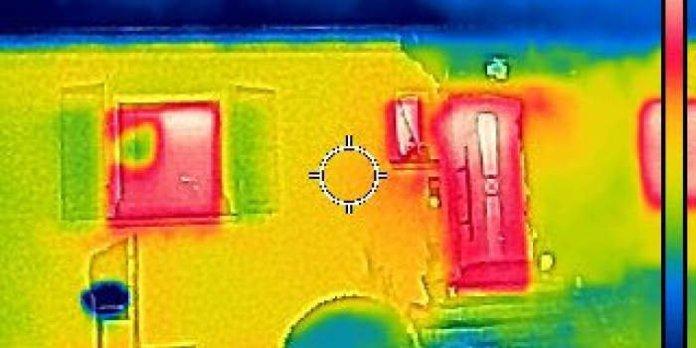Mit der Wärmebildkamera unterwegs