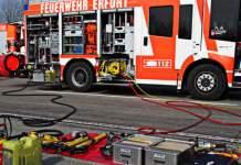 12. Gemeinsame Hauptversammlung der Freiwilligen Feuerwehr Erfurt sowie 28. Delegiertenkonferenz des Stadtfeuerwehrverbandes Erfurt e.V.