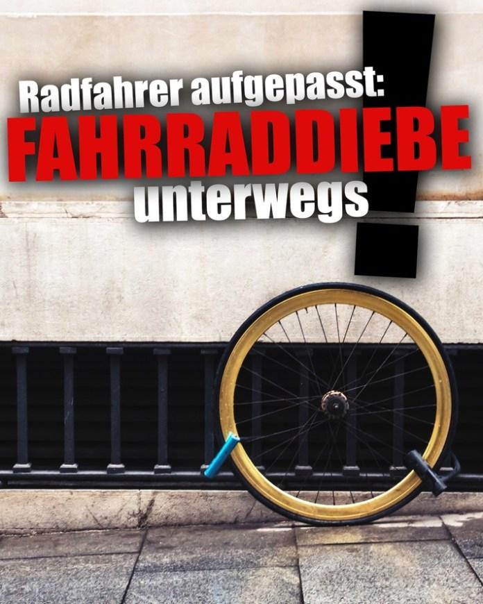 LPD-EF: Fahrradfahrer aufgepasst - Faltblatt der Polizei gibt Tipps zum Schutz vor Fahrraddiebstahl