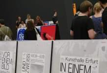 Drei Plakate der Kunsthalle Erfurt preisgekrönt