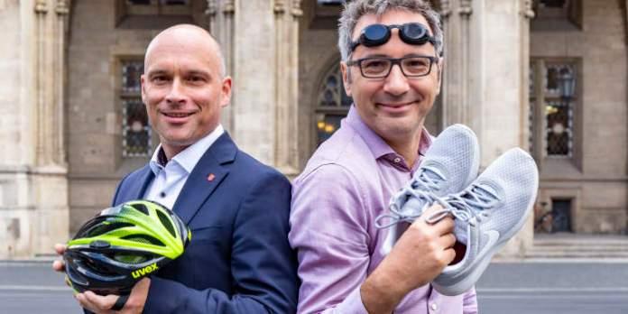 """""""Die Rathäusler"""" gehen beim """"Erfurt Triathlon"""" an den Start. Zwei Dezernenten stecken sich hohe Ziele."""