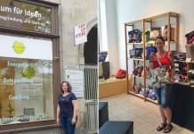 Pop-up-Store F11: Janet Weitzmann und Claudia Gimmler stellen ihr Start-up vor