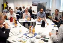 Netzwerkabend vom Logistik Netzwerk Thüringen zu aktuellen Fragen: Digitalisierung, Nachhaltigkeit und Personalwesen