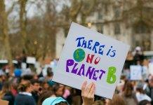Demontration für das Klima