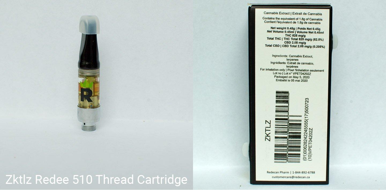 82.5% THC Zktlz Distillate by Redecan
