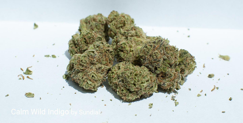 17.9% THC Calm Wild Indigo by Sundial