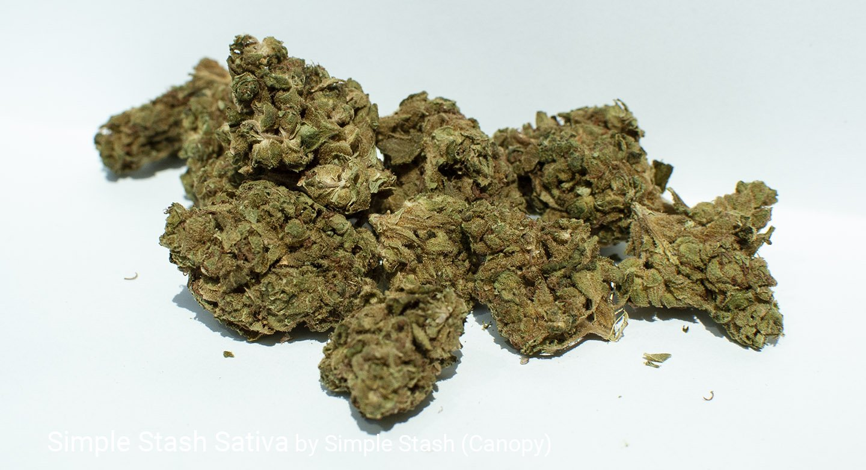 15.0% THC Simple Stash Sativa by Simple Stash