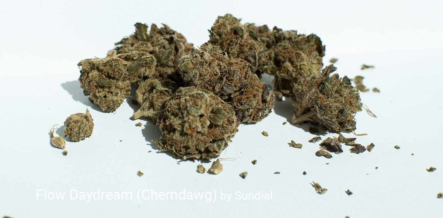 20.4% THC Flow Daydream (Chemdawg) by Sundial
