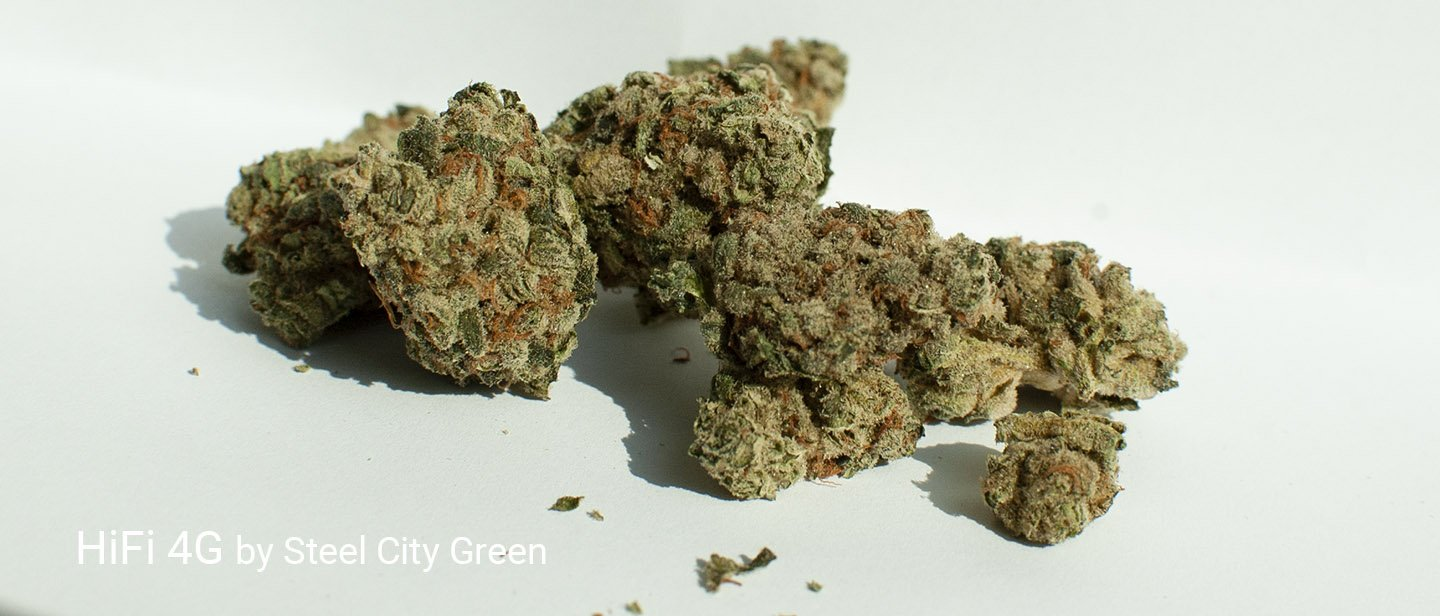 21.28% THC HIFI 4G by Steel City Green