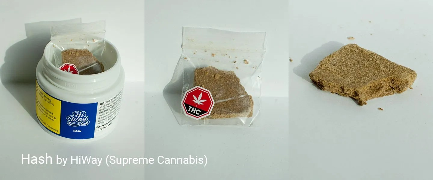 35.02% THC Hash by HiWay