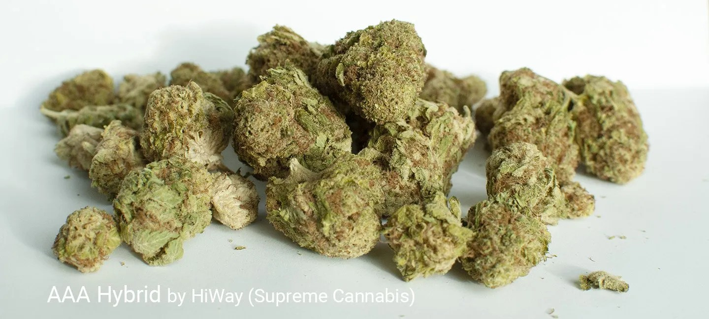 17.27% THC AAA Hybrid by HiWay