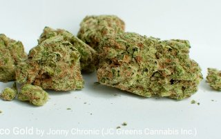 22.8% THC 2.54% Terpenes Acapulco Gold by Jonny Chronic