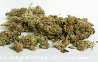 19.691% THC Tangie Green (Tangerine Dreams) by Good Supply (Aphria)