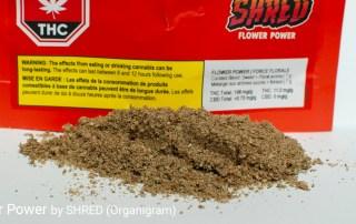 19.8% THC Flower Power by SHRED