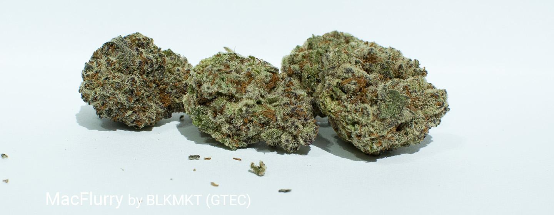 24.61% THC 2.23% Terpenes MacFlurry by BLKMKT