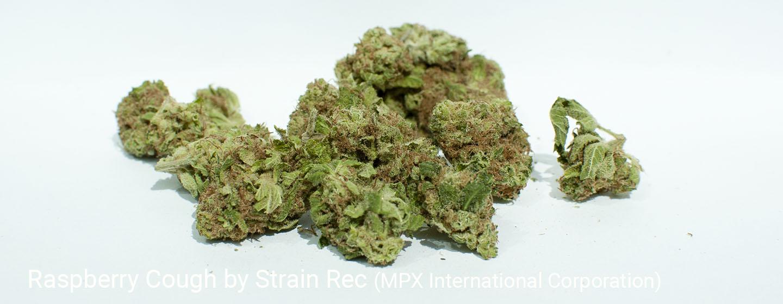 17.3% THC Raspberry Cough by Strain Rec