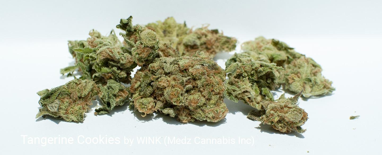 20.629 % THC Tangerine Cookies by WINK (Medz Cannabis Inc)
