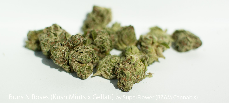 23.3% THC 1.04% Terpenes Buns N Roses by SuperFlower