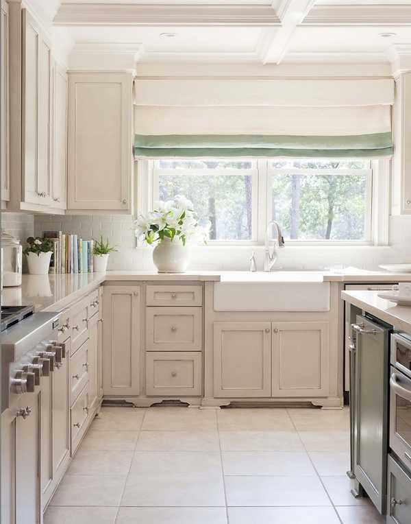 Кухня в пастельных тонах 〛 Фото Идеи Дизайн