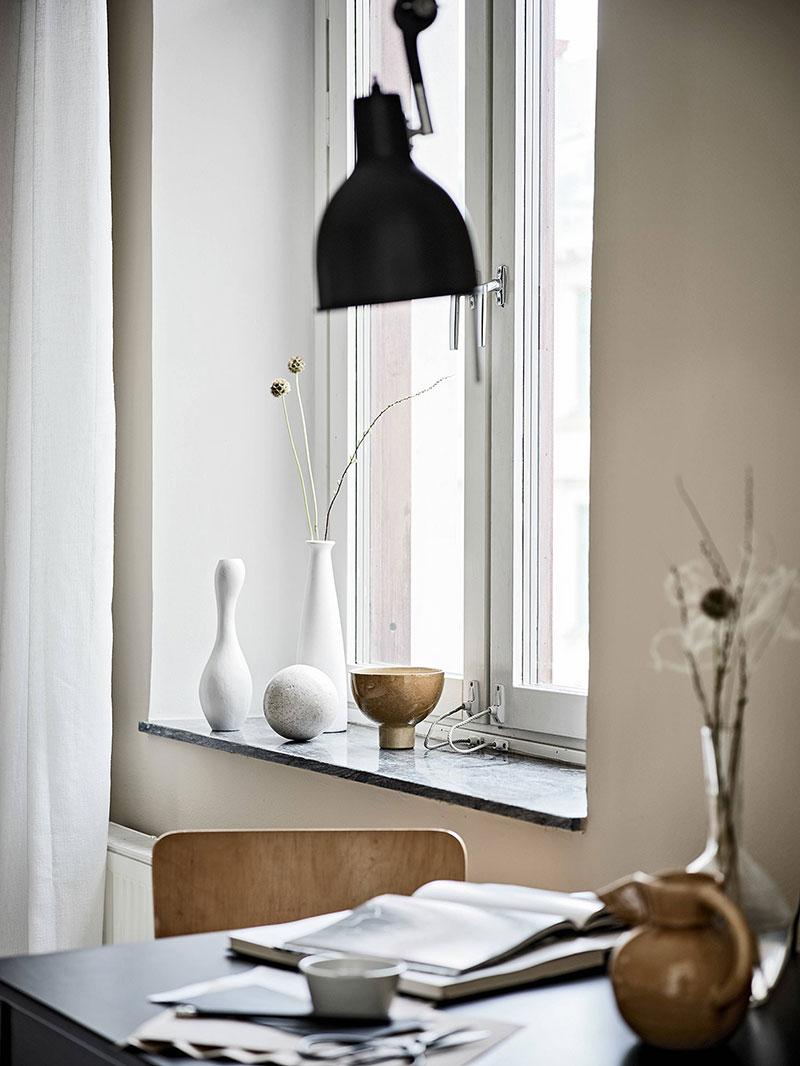 малогабаритная кухня в скандинавском стиле