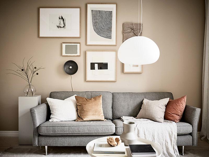 дизайн маленькой квартиры в скандинавском стиле