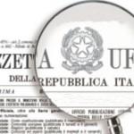 Gazzetta Ufficiale concorsi