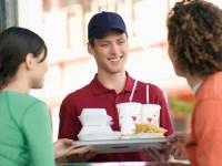 offerta di lavoro in un fast-food