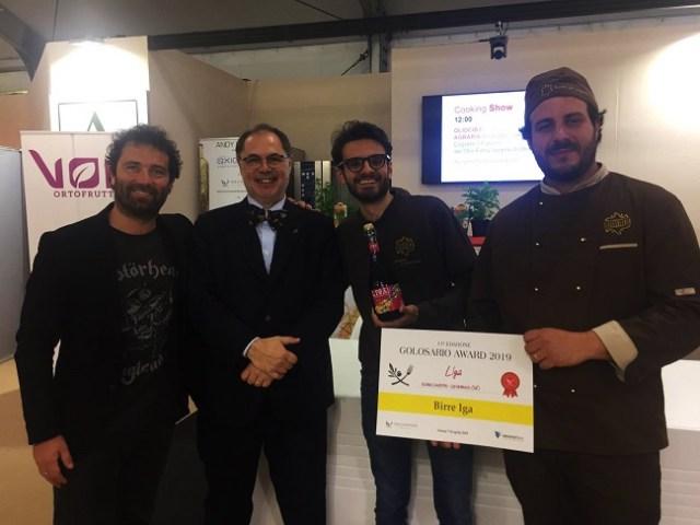 birra salento conquista il golosario awards 2019