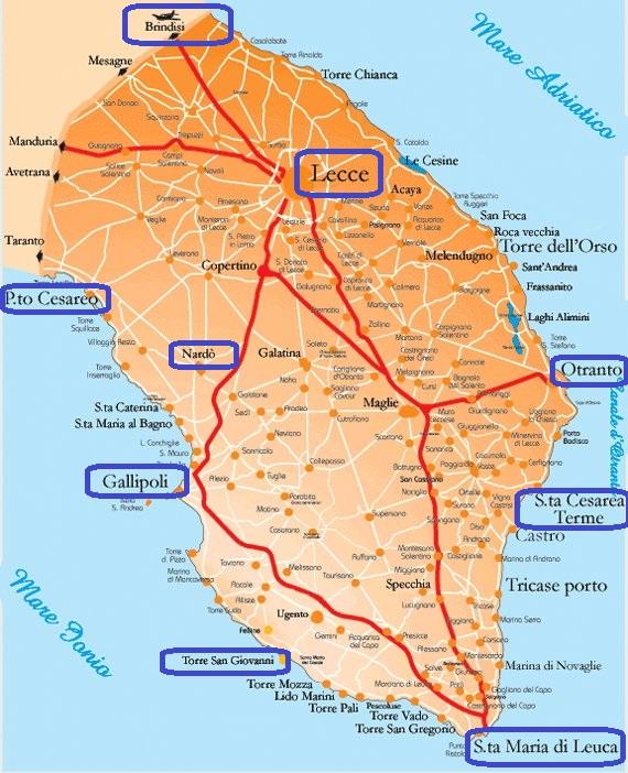Vacanze in Salento dove alloggiare e dove andare, per il mare e non solo