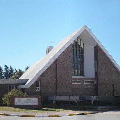 Iglesia del Parque frente al Sanatorio Adventista