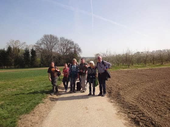 Frühlingswanderung der Landesgruppe Mitte in Gau Algesheim 10