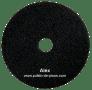 disco negro para fregar y pulir pisos