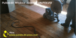 pulido de pisos de madera