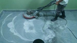 lavado y pulido de loseta