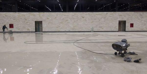 pulido de pisos de concreto