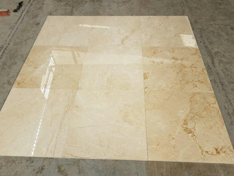 piso de marmol crema marfil