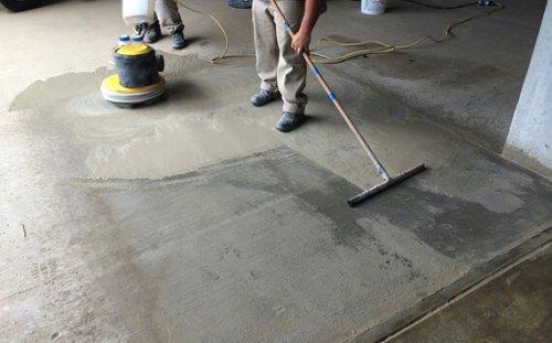 limpieza de concreto