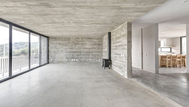 piso de concreto pulido