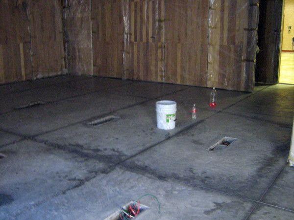 concreto pulido y sellado