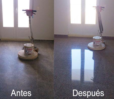 cómo pulir y abrillantar pisos
