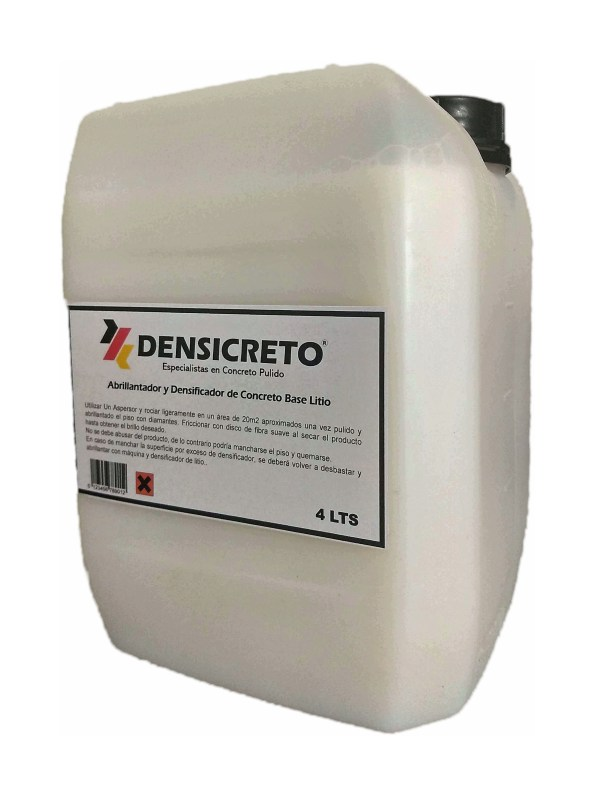 densificador de litio para concreto 4 litros