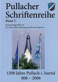 """Pullacher Schriftenreihe, Band 3, """"1200 Jahre Pullach i. Isartal"""""""