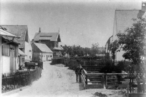 Habenschadenstraße ca. 1890