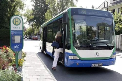 öffentliche Verkehrsmittel Pullach I Isartal